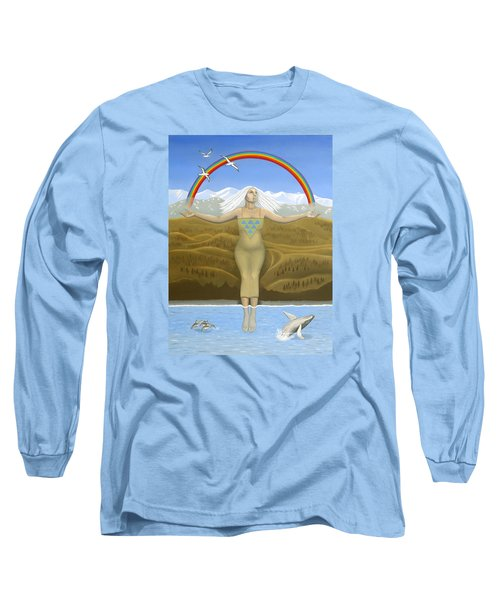 Papatuanuku / Capricorn Long Sleeve T-Shirt