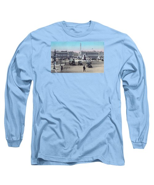 Paris Place De La Concorde 1910 Long Sleeve T-Shirt