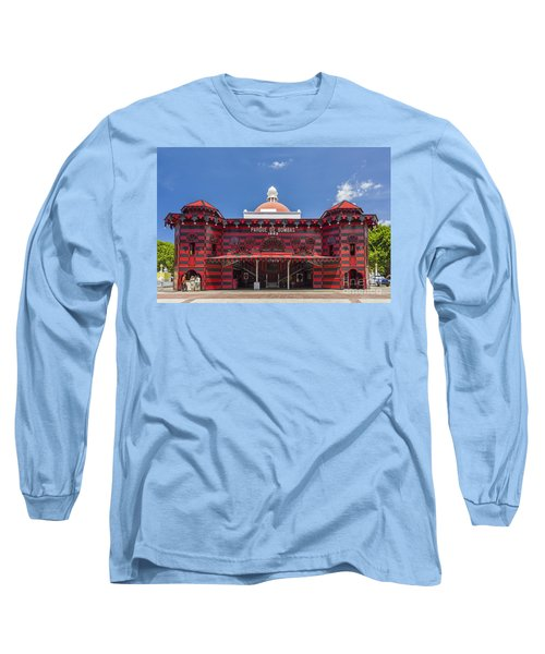 Parque De Bombas Fire Station In Ponce Puerto Rico Long Sleeve T-Shirt