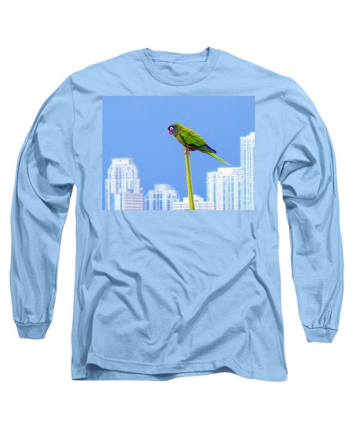Long Sleeve T-Shirt featuring the photograph Parrot by J Anthony
