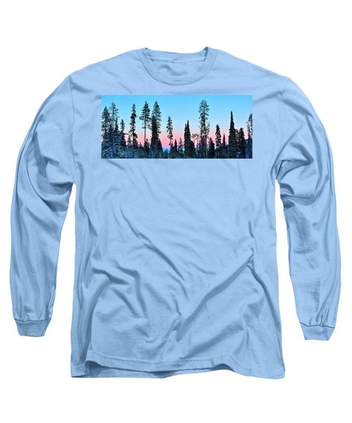 Pastels Of A Parting Day Long Sleeve T-Shirt