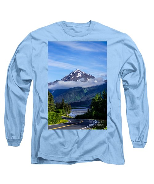 Path Through Alaska Long Sleeve T-Shirt