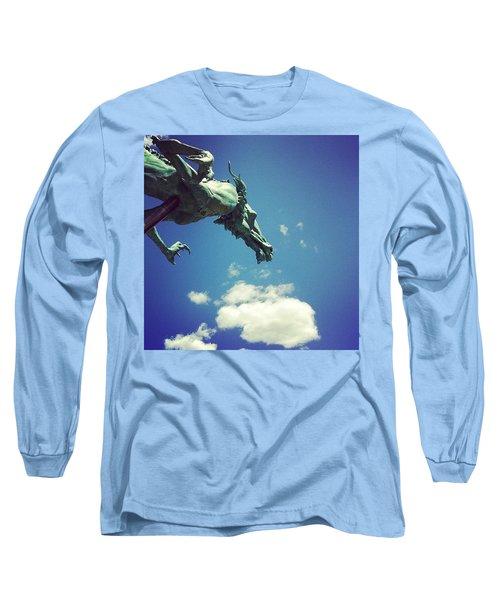 Paul's Dragon Long Sleeve T-Shirt