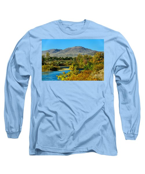 Payette River And Squaw Butte Long Sleeve T-Shirt