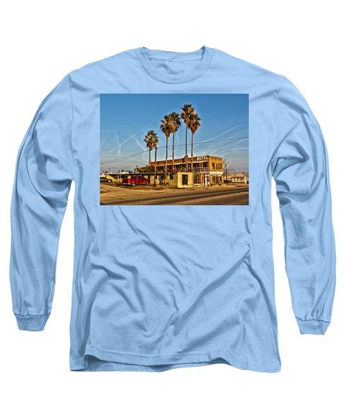 Long Sleeve T-Shirt featuring the photograph Penny Bar Mckittrick California by Lanita Williams
