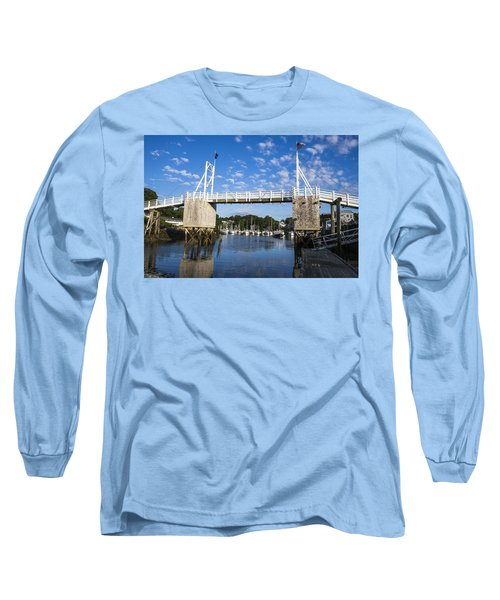 Perkins Cove - Maine Long Sleeve T-Shirt