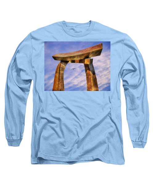 Pi In The Sky Long Sleeve T-Shirt by Paul Wear