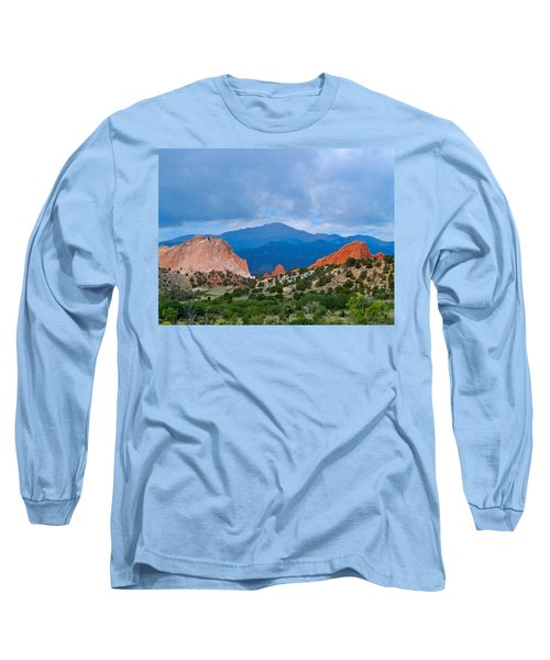 Pikes Peak Long Sleeve T-Shirt by Dan Miller