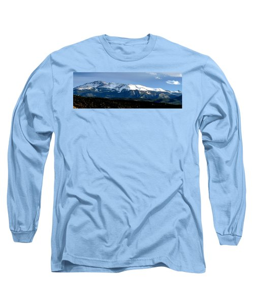Pikes Peak Panorama Long Sleeve T-Shirt