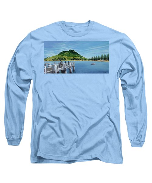 Pilot Bay 280307 Long Sleeve T-Shirt by Sylvia Kula