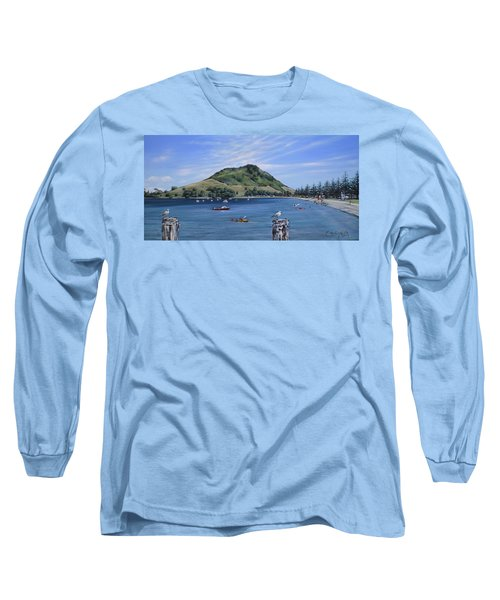 Pilot Bay Mt M 291209 Long Sleeve T-Shirt by Sylvia Kula
