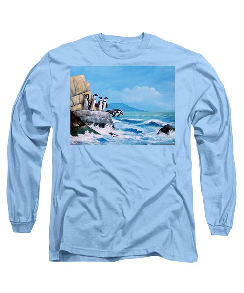 Pinguinos De Humboldt Long Sleeve T-Shirt