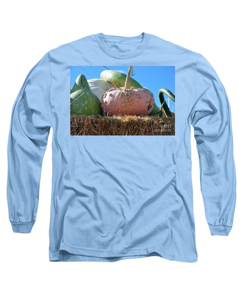 Pink Pumpkin And Friends Long Sleeve T-Shirt