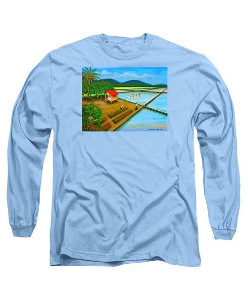 Planting Season Long Sleeve T-Shirt by Cyril Maza