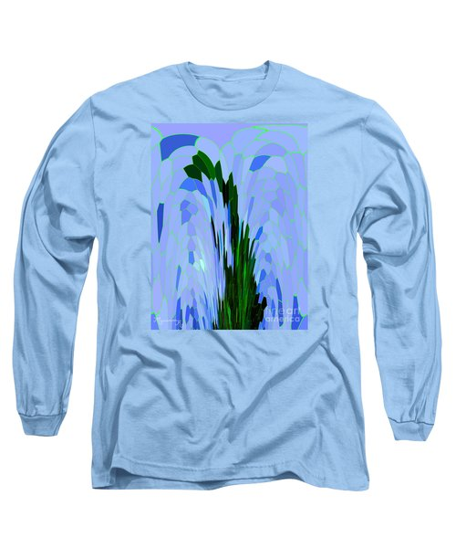 Long Sleeve T-Shirt featuring the digital art Point Of View by Mariarosa Rockefeller