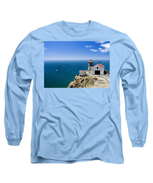 Point Reyes Lighthouse California Long Sleeve T-Shirt