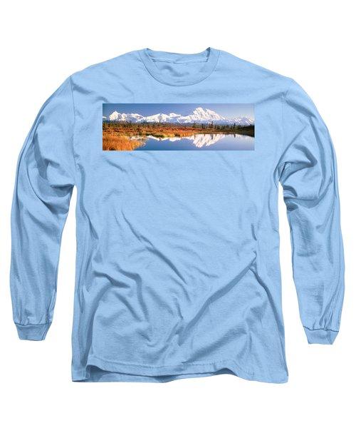 Pond, Alaska Range, Denali National Long Sleeve T-Shirt