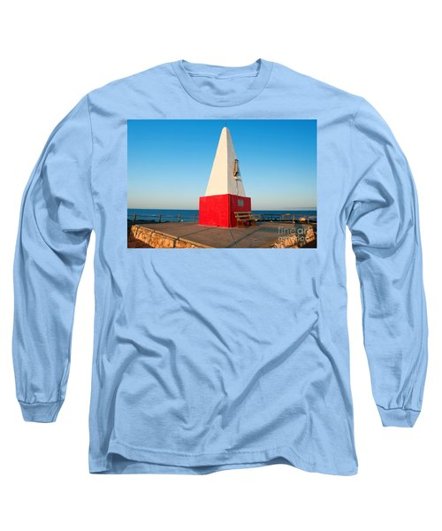 Long Sleeve T-Shirt featuring the photograph Port Denison Obelisk by Yew Kwang