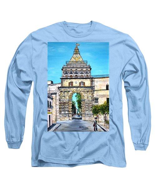 Porta Nuova - Palermo Long Sleeve T-Shirt