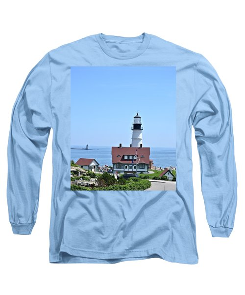 Portland Head Light Long Sleeve T-Shirt