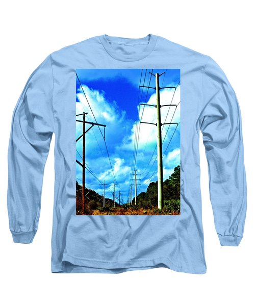 Power To The Infinity Long Sleeve T-Shirt