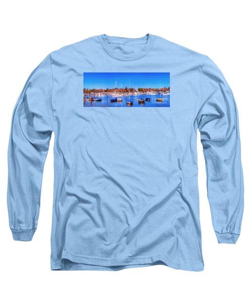 Promontory Point - Newport Beach Long Sleeve T-Shirt by Jim Carrell