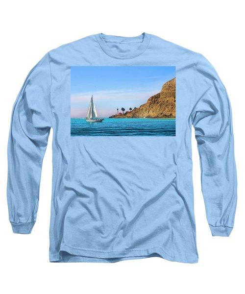 Pt Loma - San Diego Bay Long Sleeve T-Shirt
