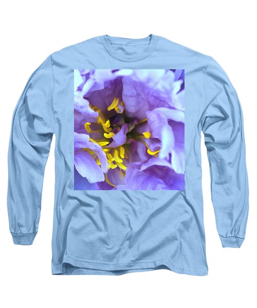 Purple Beauty Long Sleeve T-Shirt by Tine Nordbred