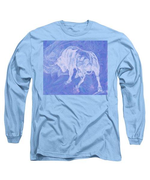Purple Bull Negative Long Sleeve T-Shirt