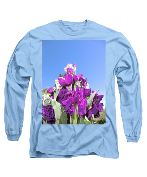 Purple Glow 2 Long Sleeve T-Shirt