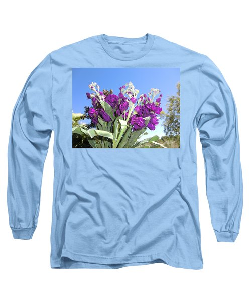 Purple Glow Long Sleeve T-Shirt