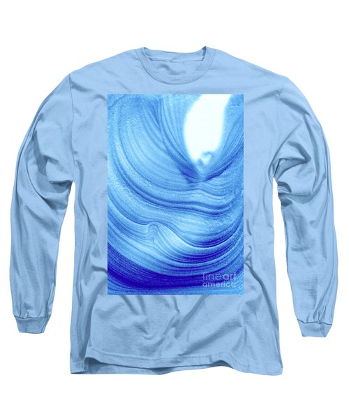 Query Blue 2 Long Sleeve T-Shirt by Jamie Lynn