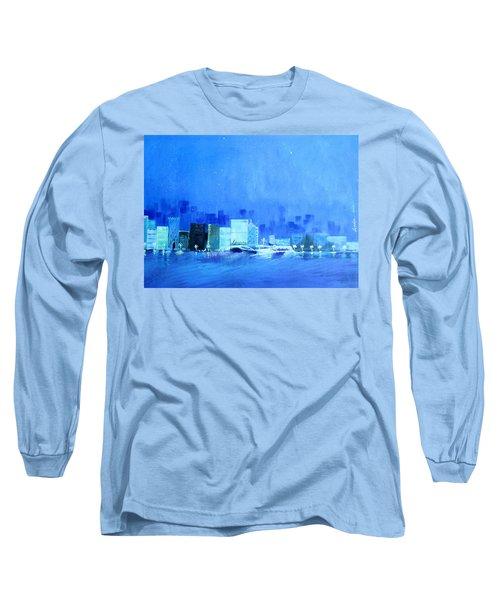 Quiet City Night Long Sleeve T-Shirt