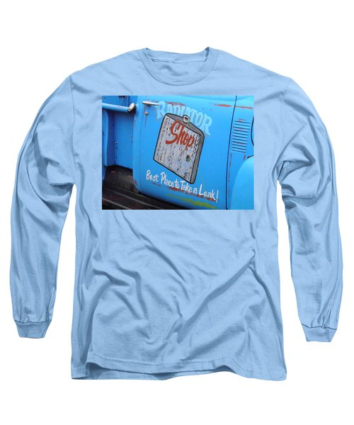 Radiator Shop Long Sleeve T-Shirt by Nick Kirby