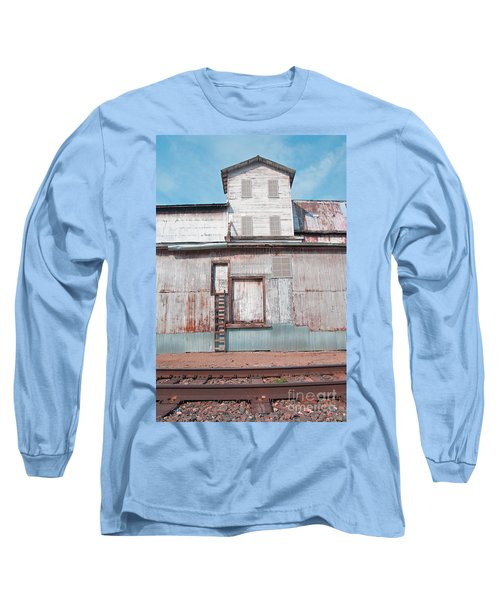 Railroad To The Past Long Sleeve T-Shirt