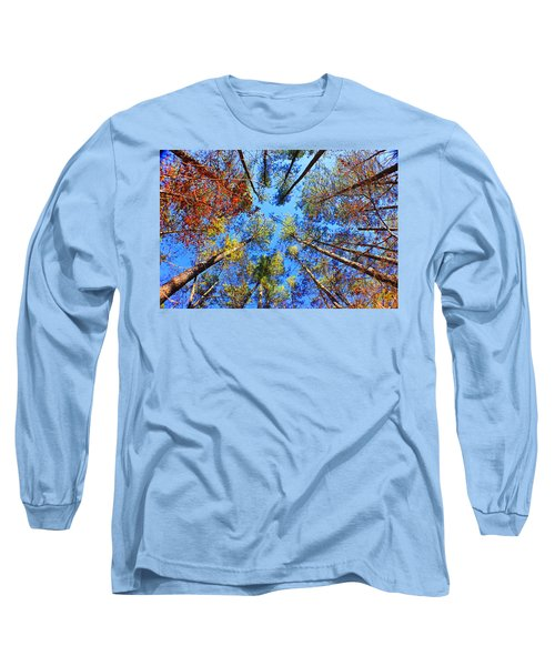 Rainbow Fall Long Sleeve T-Shirt