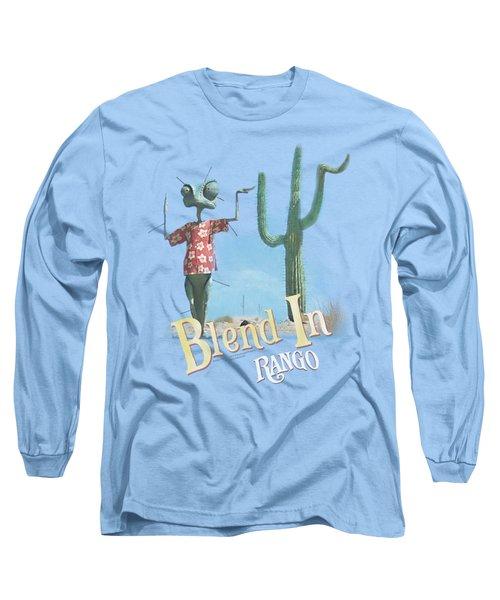 Rango - Blend In Long Sleeve T-Shirt