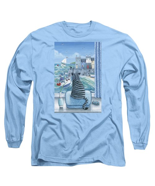 Rather Mew Long Sleeve T-Shirt by Peter Adderley