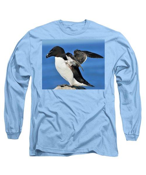 Razorbill Long Sleeve T-Shirt by Tony Beck