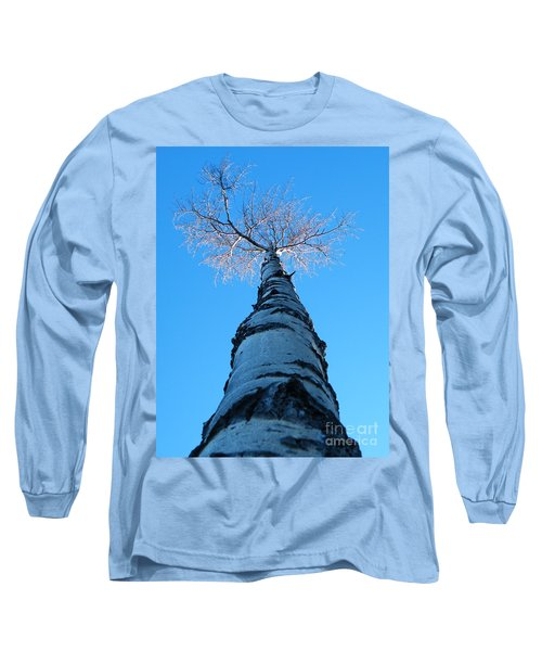 Reaching For The Light Long Sleeve T-Shirt by Brian Boyle