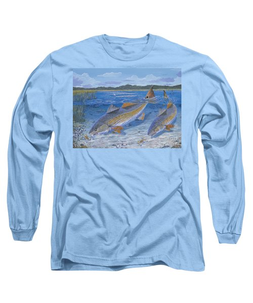 Red Creek In0010 Long Sleeve T-Shirt by Carey Chen