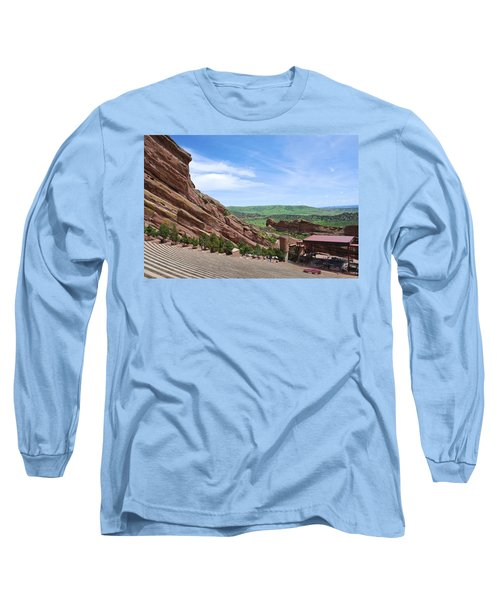 Red Rocks Long Sleeve T-Shirt by Charlie and Norma Brock