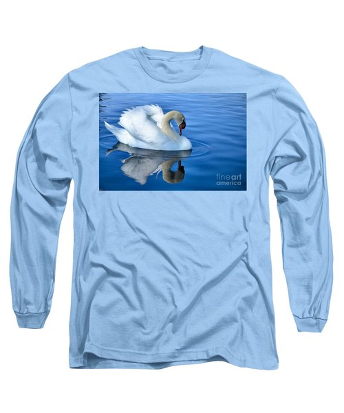 Reflecting Long Sleeve T-Shirt by Deb Halloran