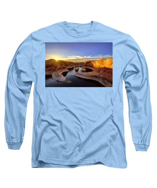 Reflection Canyon Sunrise Long Sleeve T-Shirt
