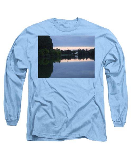 Reflections On La Saone Long Sleeve T-Shirt
