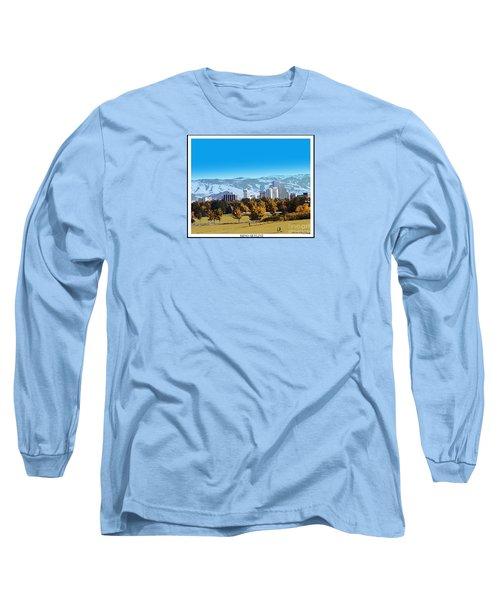 Reno Skyline From Rancho San Rafael Long Sleeve T-Shirt
