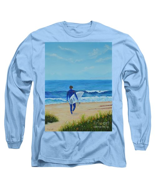 Returning To The Waves Long Sleeve T-Shirt