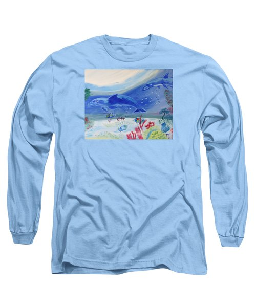 Rhythm Of The Sea Long Sleeve T-Shirt