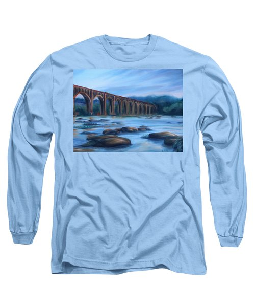Richmond Train Trestle Long Sleeve T-Shirt