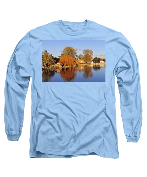 River Thames At Marlow Long Sleeve T-Shirt